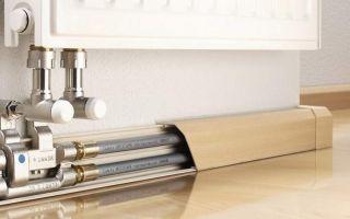 Способы маскировки труб отопления в квартире либо частном доме