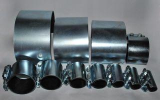 Ремонтные хомуты для труб: разновидности, особенности монтажа