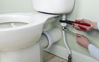 Как самостоятельно подключить унитаз к канализации