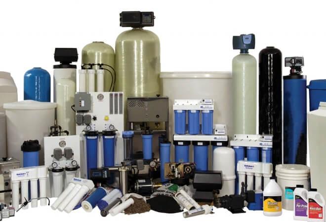линейка фильтров для воды