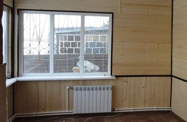 Двухтрубная разводка труб отопления в частном доме