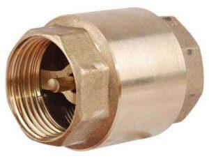 Обратный клапан водопровода