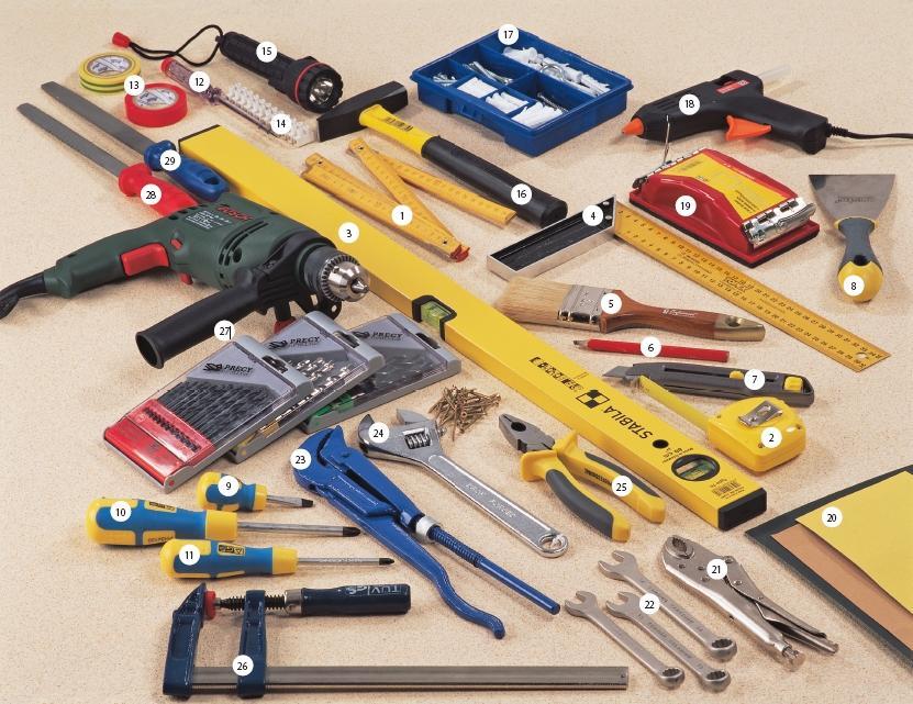 инструменты для подключения бойлера
