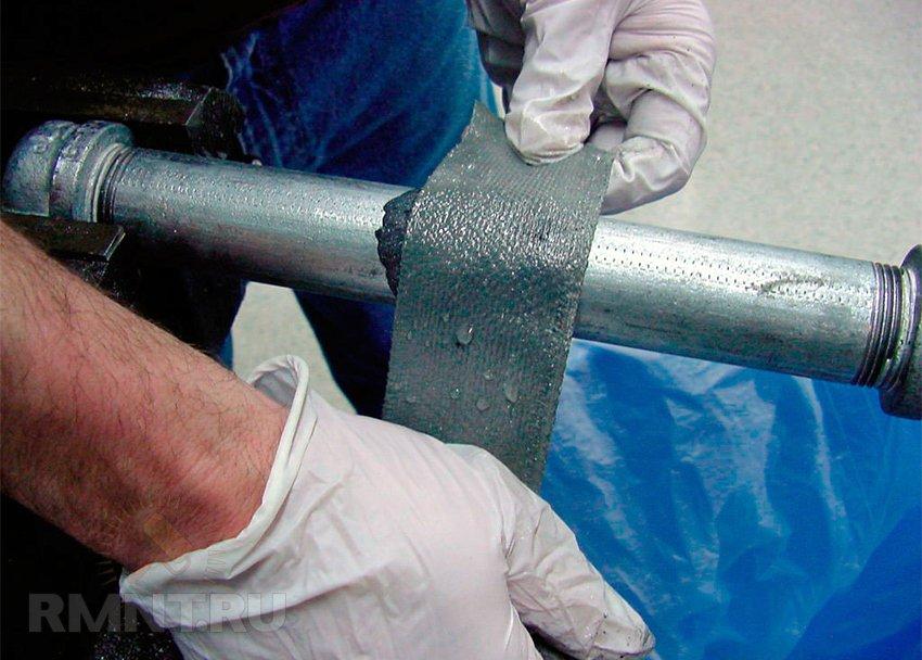 заплатка тканевая для заделки течи