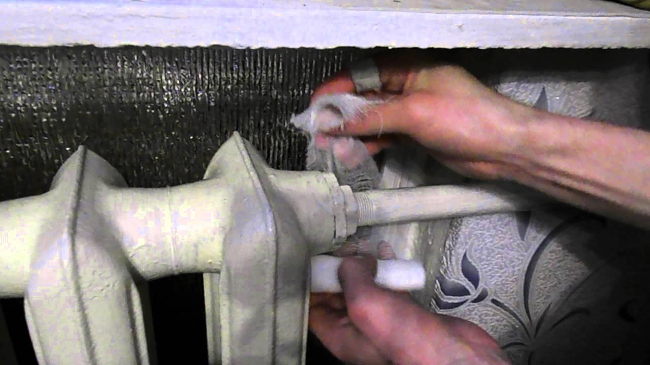 Ремонт течи при помощи поваренной соли