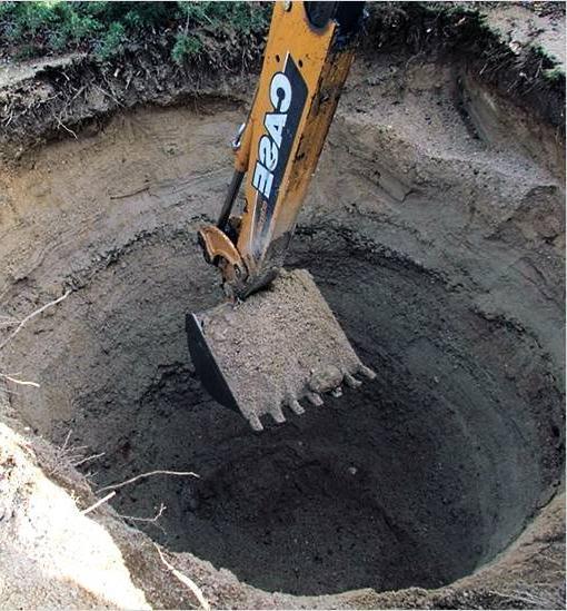 копание ямы