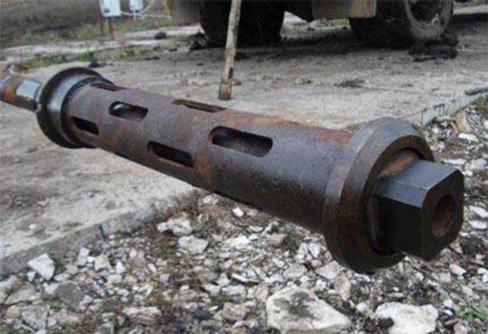 снаряд для очистки скважины гидроударом