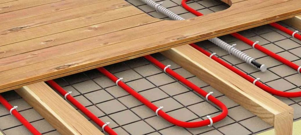 теплый водяной пол для деревянных полов